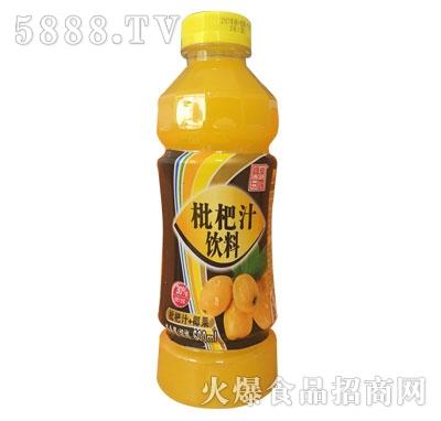 真果甘露枇杷汁饮料600ml