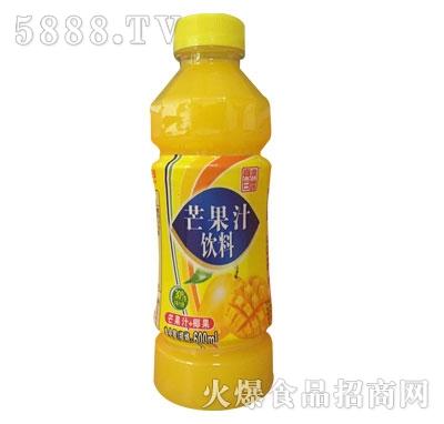 真果甘露芒果汁饮料600ml