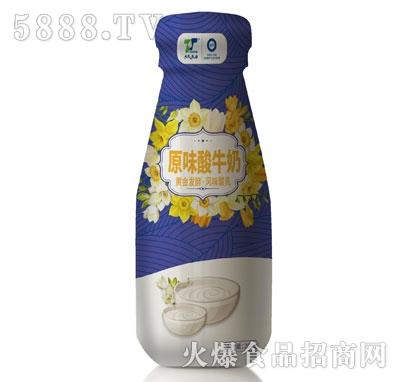 天太乳业原味酸牛奶产品图