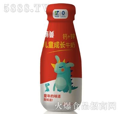天太乳业钙加锌儿童牛奶产品图