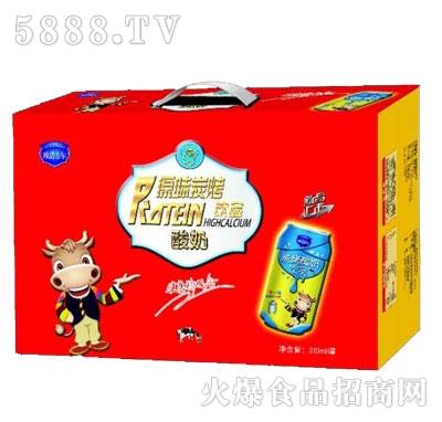 欧诺古尔原味炭烧酸奶310mlX8罐