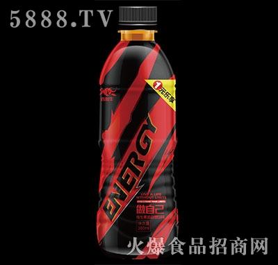 西部牛能量型维生素运动饮料380ml