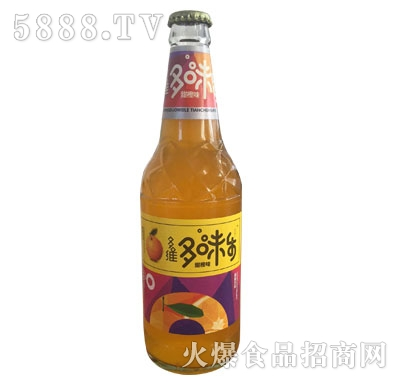 多味乐甜橙味碳酸饮料