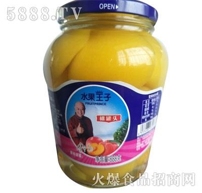 水果王子桃罐头888g