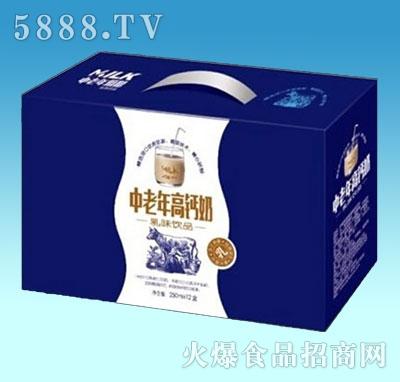 中老年高钙奶纸箱