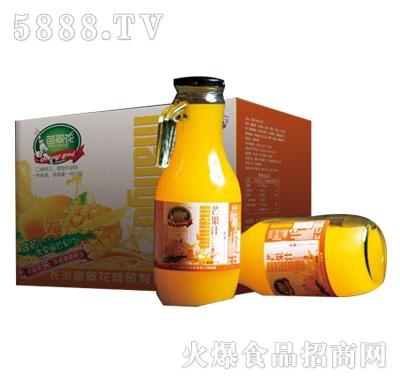 苗翠花芒果果汁饮料1.5Lx6瓶