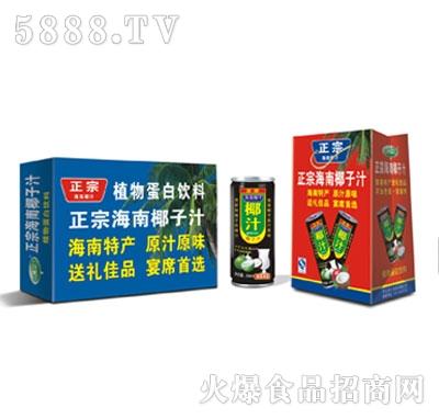 正宗海南椰汁240ml系列产品