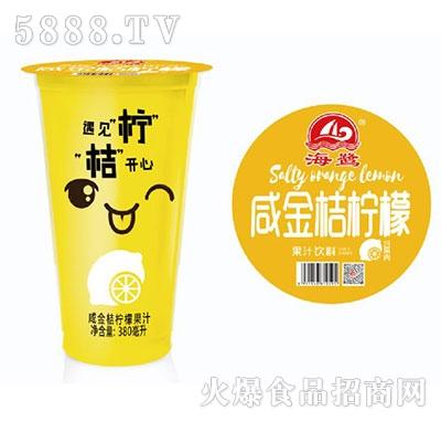 海鹭咸金桔柠檬果汁饮料420ml