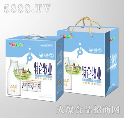 三精农谷特仑牧业乳味饮料(礼盒)