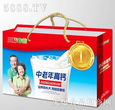 三精农谷中老年高钙乳味饮料(双提装)