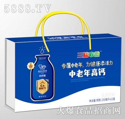 三精农谷中老年高钙乳味饮料(箱)