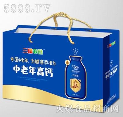三精农谷中老年高钙乳味饮料(箱子)