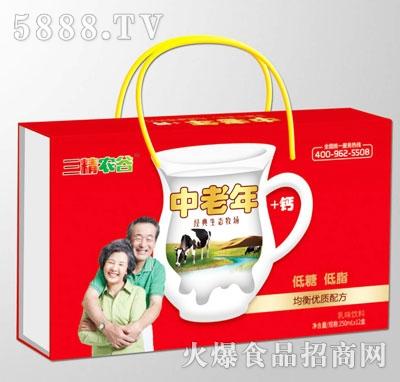 三精农谷中老年经典生态牧场乳味饮料