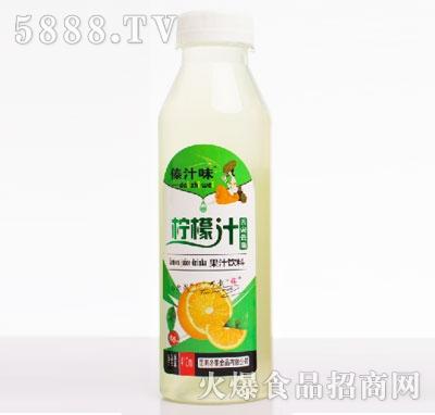 傣汁味柠檬汁410ml