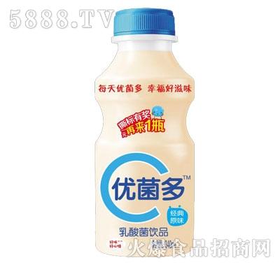 优菌多乳酸菌饮品经典原味340ml