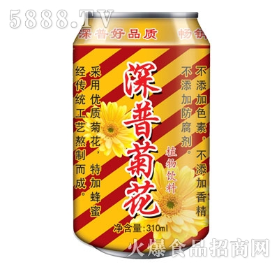 深普菊花植物饮料310ml