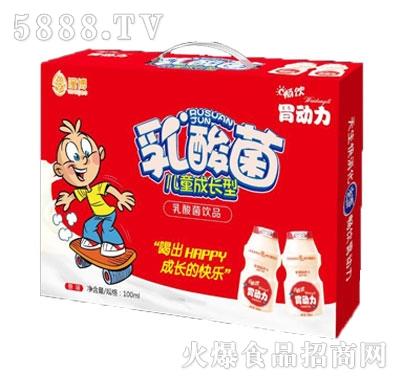 潼博儿童成长型原味乳酸菌饮品100ml箱