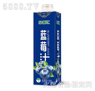 绿源汇蓝莓果汁饮料