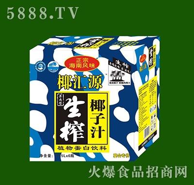 椰汇源生榨椰子汁1.25x6瓶
