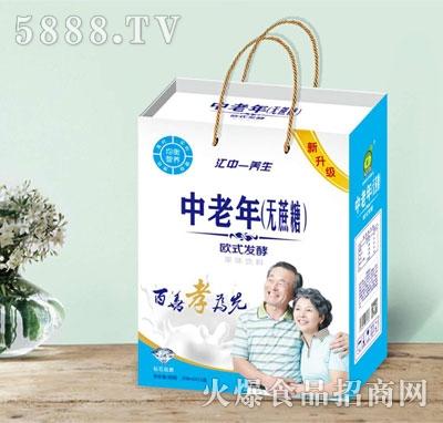 中老年无蔗糖欧式发酵果味饮料208mlx12盒