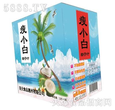 瘦小白椰子汁1.25Lx6瓶