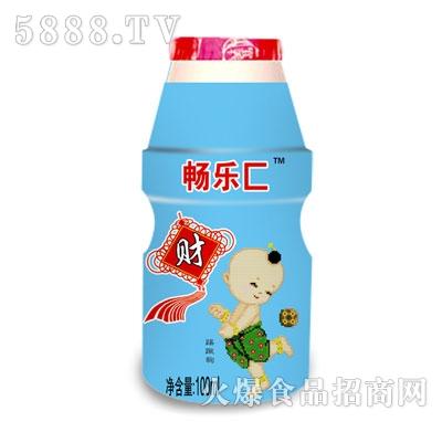 畅乐C儿童乳酸菌饮品100ml(财)