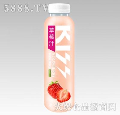 炫吻果汁草莓汁500ml