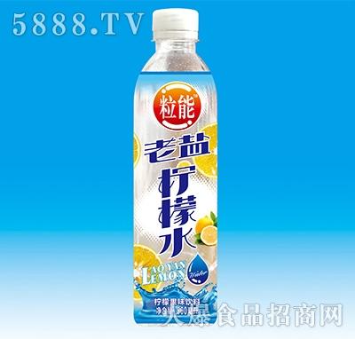 粒能老盐柠檬水果味饮料500ml