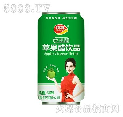 顶真木糖醇苹果醋饮品310ml