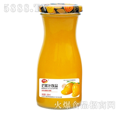 顶真芒果汁果汁饮料330ml
