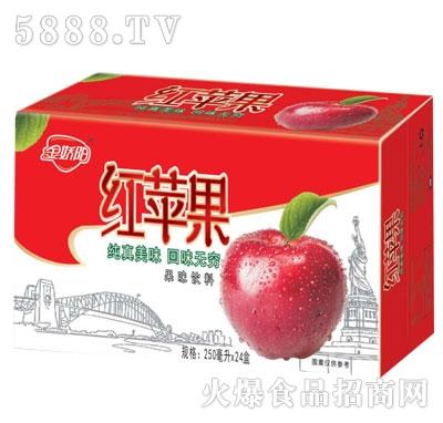 金娇阳红苹果果味饮料250mlX24