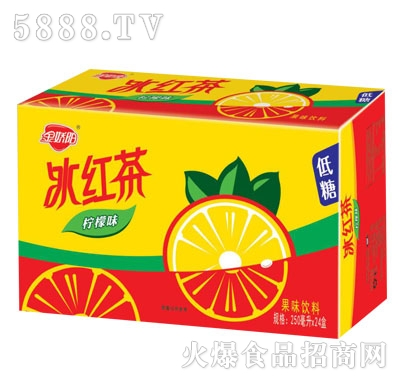 金娇阳冰红茶果味饮料250mlX24