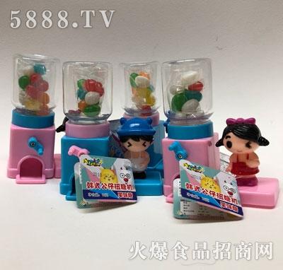 羚羊小鹿韩式公仔扭糖机果味糖12克