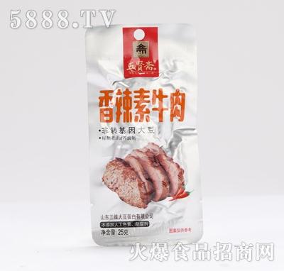 五贤斋素牛肉香辣味25g产品图