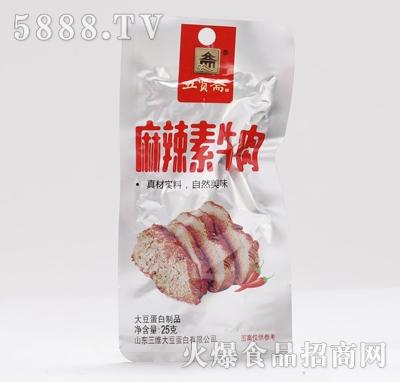 五贤斋素牛肉麻辣味25克产品图