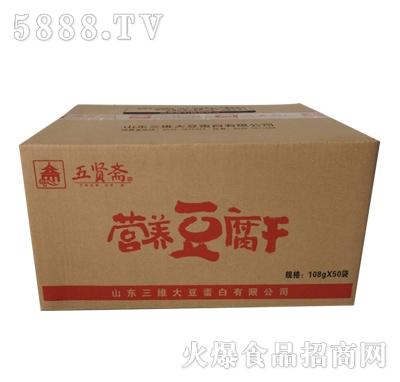 五贤斋豆腐干108gx50袋产品图