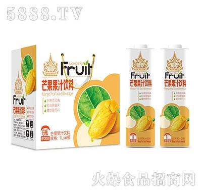 椰泰芒果汁1Lx6瓶