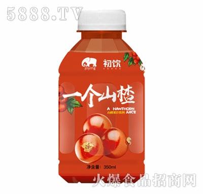 350mL一个山楂果汁饮品