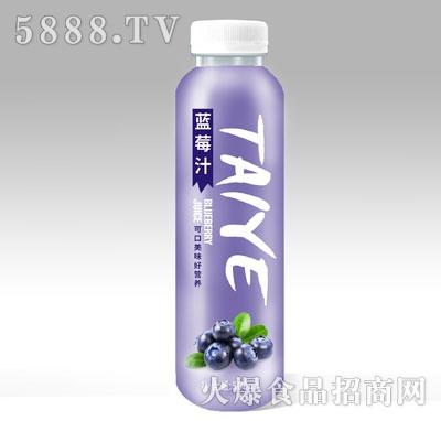 鲜果汁蓝莓汁500ml
