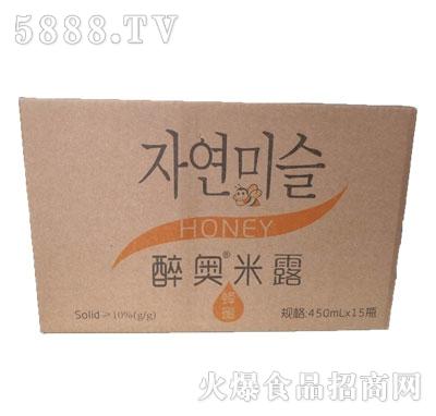 醉奥蜂蜜米露饮料450mlx15瓶产品图