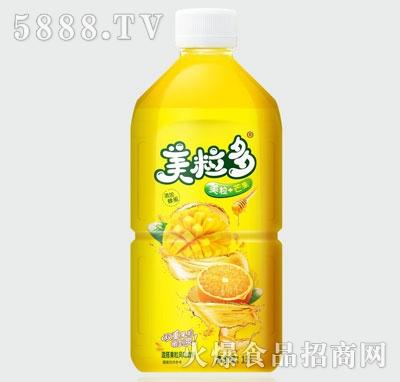 美粒多美粒+芒果混搭果粒风味饮料