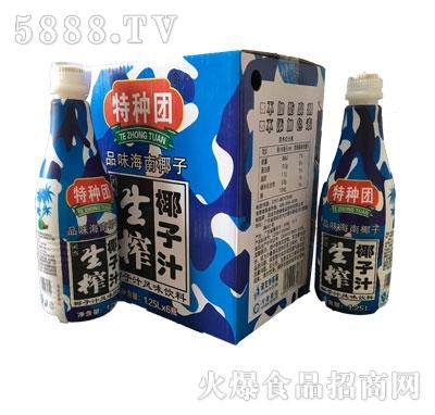特种团生榨椰汁汁风味饮料1.25Lx6瓶