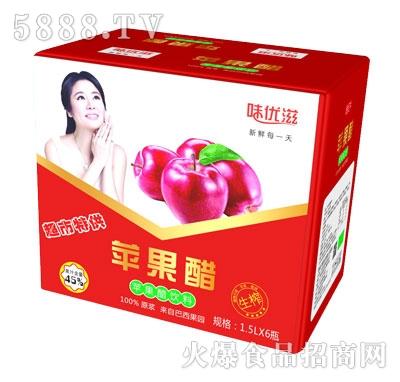 味优滋苹果醋饮料1.5Lx6瓶