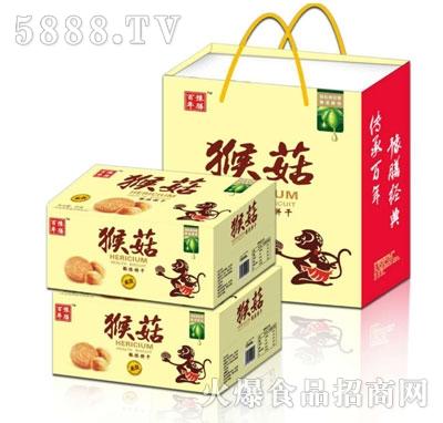 百年豫膳猴菇酥性饼干(礼盒)