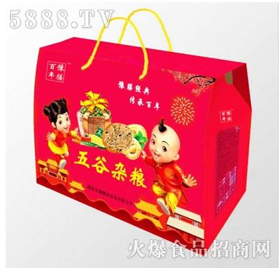 百年豫膳五谷杂粮饼干(礼盒)