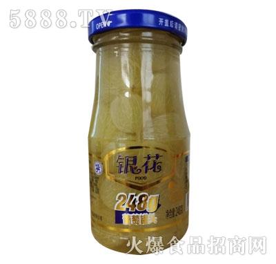 银花葡萄罐头248g