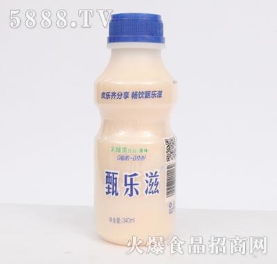 甄乐滋乳酸菌原味340ml