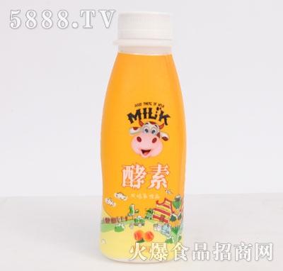 酵素风味乳饮品橙