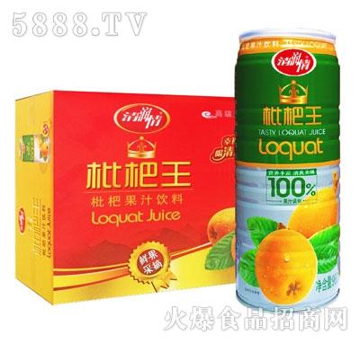 清润情枇杷果汁饮料960mlX6