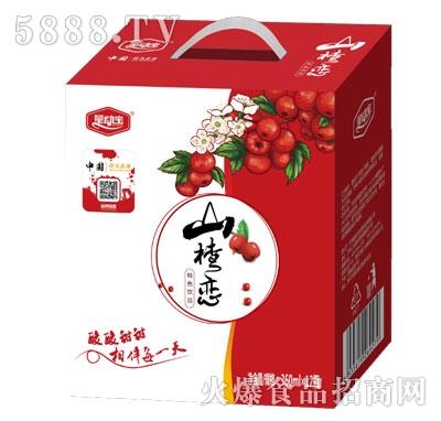量动宝山楂恋山楂汁360mlX12